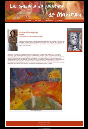 Maritxu Ybarnégaray – Peintre figuratif