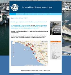 OkBoat – Surveillance de votre bateau à quai