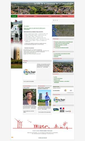 Refonte du site de la mairie de La Limouzinière