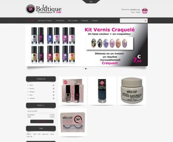 Création site e-commerce La Boutique Cosmétiques