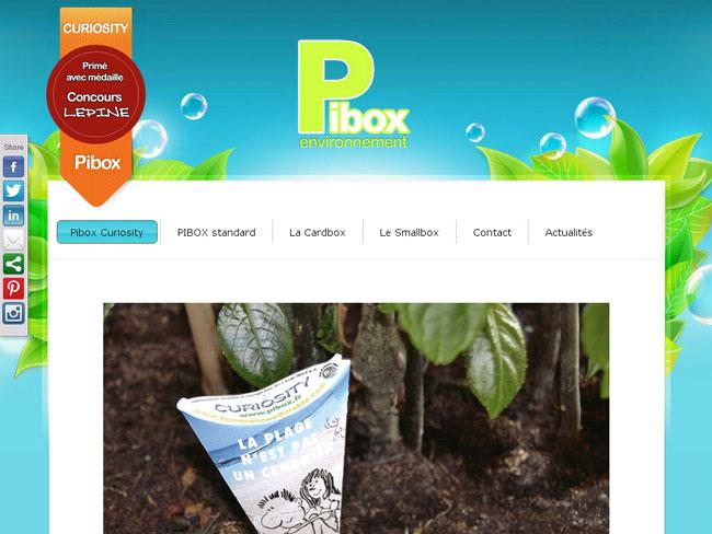 Création du site internet CMS WordPress – Pibox.fr