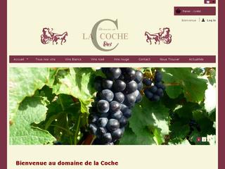Création site internet e-commerce Prestashop – Domaine de la Coche