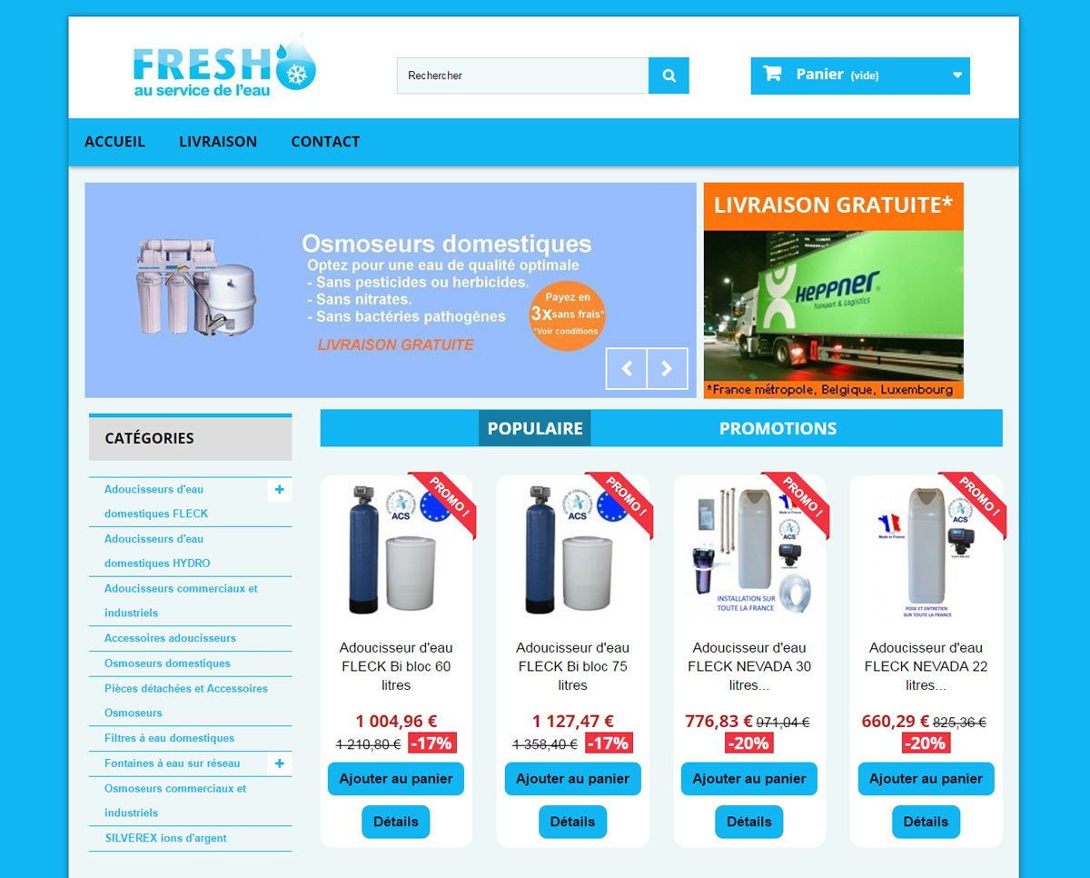 Cr ation site internet prestashop entreprise la turballe for Idee creation site internet