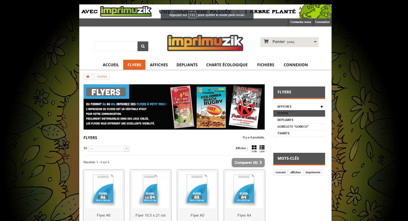 318007b07d2 Création du site internet e-commerce Imprimerie à Machecoul
